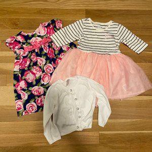 Super Cute 18 Month Baby Girl Dress Bundle